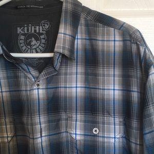 Men's Kuhl short sleeved shirt